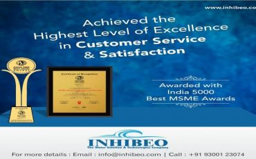 Awarded with Indias 5000 Best MSME Award 2020….